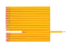 Lead Pencil Abstract Stock Photos