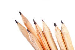 Lead pencils. Background, graphite pencils, abstract backdrop Royalty Free Stock Photography