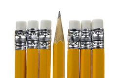 Lead pencils Royalty Free Stock Images