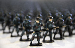 Lead Soldiers (Toy Soldiers) Royalty Free Stock Photo