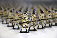 Lead Soldiers (Toy Soldiers) Royalty Free Stock Photos