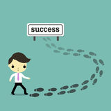 Lead to success Stock Photos