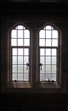 Leaded window detail royalty free stock images