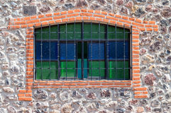 Leaded Window Stock Image