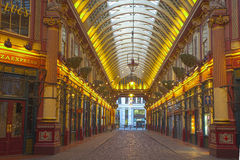 Leadenhall市场,伦敦,英国 免版税库存照片
