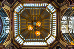 Leadenhall Marke ceiling lights, London UK Royalty Free Stock Image