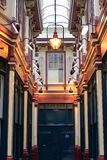 Leadenhall market covered shopping arcade Stock Images