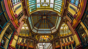 Leadenhall Market in the financial district of the City of Londo Stock Images