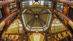 Leadenhall Market in the financial district of the City of London Stock Images