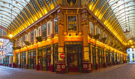 Leadenhall Market In London, UK Stock Photos