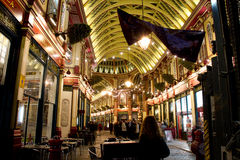 Leadenhall Market London Royalty Free Stock Photography