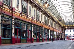Leadenhall Market in London Royalty Free Stock Photos