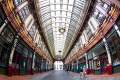 Leadenhall Market in London Stock Photos