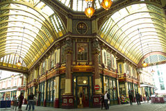 Leadenhall Market in London Royalty Free Stock Images