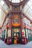 Leadenhall Market in London Stock Photo