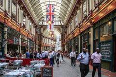 Leadenhall Market, London Stock Photos