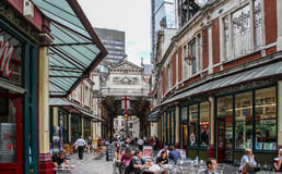 Leadenhall Market, London Royalty Free Stock Images