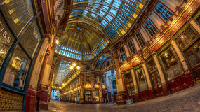 Leadenhall Market, London. Royalty Free Stock Photos