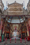 Leadenhall market shopping arcade london uk Royalty Free Stock Photo