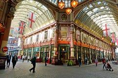 Leadenhall rynek w Londyński UK zdjęcia stock