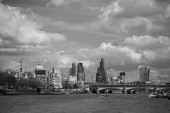 Leadenhall-Skyline stockfotografie