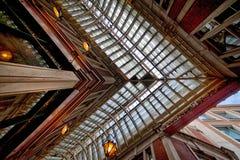 Leadenhallmarkt het winkelen arcade Londen het UK Royalty-vrije Stock Foto