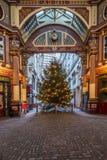 Leadenhallmarkt, Londen het UK Stock Foto's