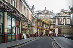Leadenhallmarkt, Londen, het UK royalty-vrije stock fotografie