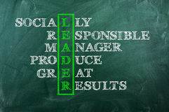 Leader Royalty Free Stock Images