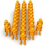 Leader Arrow Stock Image