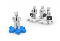 The Leader. Business concept Royalty Free Stock Photos