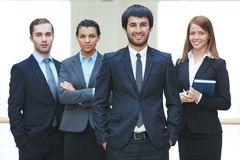 Leader of business team Stock Photos