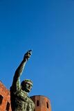 The leader: Cesare Augustus - Emperor Royalty Free Stock Images