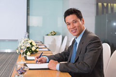 Leader of the company Royalty Free Stock Photography
