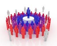 Leader Concept stock illustration