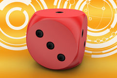 Leader Dice Royalty Free Stock Photography