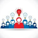 Leader have new idea Stock Photo