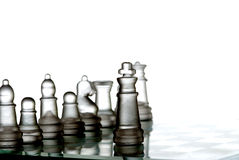 The leader and his team royalty free stock images