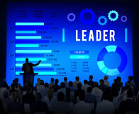 Leader Leadership Authority Coach Concept Royalty Free Stock Photo