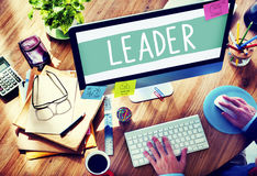 Leader Leadership Management Coaching Concept Stock Photo