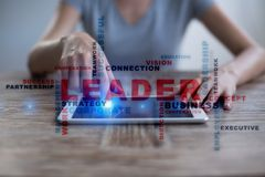Leader. Leadership. Teambuilding. Business concept. Words cloud. Leader Leadership Teambuilding. Business concept. Words cloud stock images