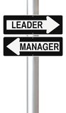 Leader or Manager Stock Photography