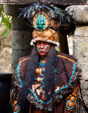 Leader of Mayan tribe Royalty Free Stock Photo