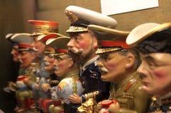 Leader militari Fotografie Stock