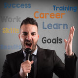 Leader motivations Royalty Free Stock Photos