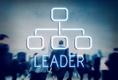 Leader Organization Chart Business Company Concept Royalty Free Stock Image