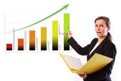 Leader Presentation Stock Image