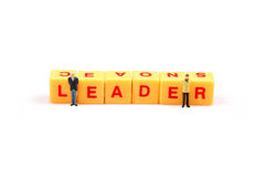 Leader qualities Stock Photo