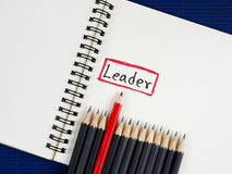 The leader Stock Images