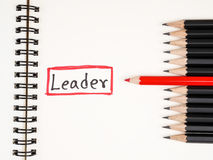 The leader 30 Stock Images